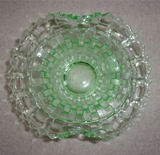 Green Glass Basket