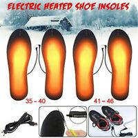 USB Beheizbare Einlegesohlen Beheizte Schuheinlagen Heizsohlen Schuh Shoes