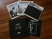 The Weeknd Trilogy FIRST PRESSING Vinyl Signed autograph  RARE* Limited 1 / 500