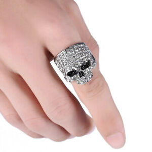 Chino Antrax Ring, Best Quality! Narco Skull Ring, Silver USA Seller Fast Ship