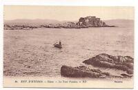 environs d'hyères  giens  ,la tour fondue