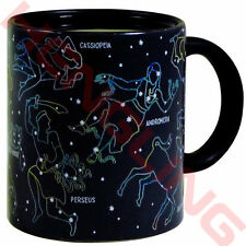 10oz Heat Changing Night Star Constellation Mug Ceramic Fashion Coffee Cups Xmas