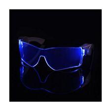 Cyber Vizor - Wireless Light Up Blue LED Glasses