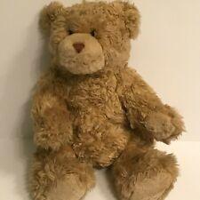 "Build A Bear Workshop Plush Light Brown Teddy Stuffed Bear 16"""
