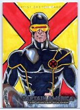 Captain America: The Winter Soldier Sketch Card / CYCLOPS by Rainier Lagunsad