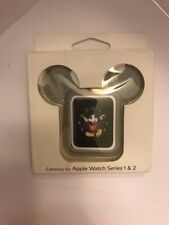 Silicone Protective Apple Watch Case Cover Disney Ears Mickey Mouse 42mm Gray