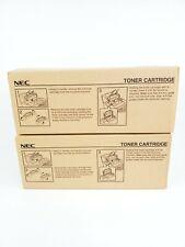 (2) NEC S2522 Laser Toner Cartridge Brand New Sealed Original Box 2 Toners