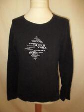 T-shirt Burberry Noir Taille 12 ans à - 62%
