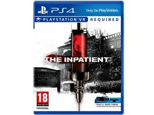The Inpatient | 100% Uncut AT | Sony Playstation VR | Boxed
