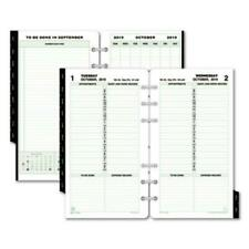 Day-Timer 12800 Dated One-page-per-day Organizer Refill, January-december, 3 3/4