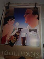 Vintage Guinness Beer Advertising Bar Poster Houlihan's Stephen Hall