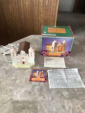 Vintage Mervyn's Lighted California Missions Santa Barbara 1997 In Box Free Ship