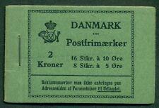 DENMARK (HRE16) 1931 Rundskudagen Booklet, VF