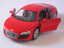 Welly Audi R8 V16 / Rot / Rückzugmotor / Druckgussmodel 1:39 OVP