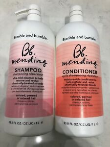 Bumble And Bumble Mending Shampoo & Conditioner 33.8oz LITER DUO SET