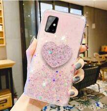 Luxury Bling Glitter Heart Case Cover For Samsung Galaxy Note 20 Ultra S20 Plus
