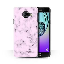 STUFF4 Phone Case for Samsung Galaxy A/Marble Rock Granite Effect/Cover