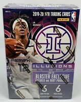 2019-20 Panini Illusions NBA Basketball Blaster Box Brand New Factory Sealed