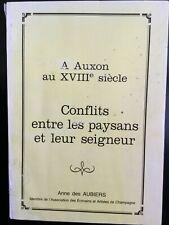 A Auxon au XVIII siècle/ U.R.Q.E.