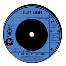 """Gloria Gaynor - Reach Out, I'll Be There - 7"""" Record Single"""