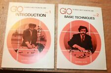 GO: THE WORLD'S MOST FASCINATING GAME. V1 & V2 stated first 1973 Nihon-Kiin