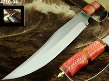 "ALISTAR 14"" CUSTOM HANDMADE STAINLESS STEEL KNIFE D-GUARD BOWIE KNIFE (4210-4"
