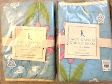 Pottery Barn Kids Daisy Garden Small Shams Crib Or Accent Square Pillows Set New