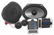 Pair Rockville RV68.2C 6x8 / 5x7 Component Car Speakers 900 Watts/170w RMS CEA