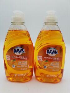 2 x 7 oz. Dawn Ultra Liquid Hand Soap Orange Blossom Scent Kills Bacteria!