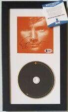 ED SHEERAN SIGNED CD DISPLAY BECKETT COA CERTIFIED AUTOGRAPHED POP ROCK SINGER