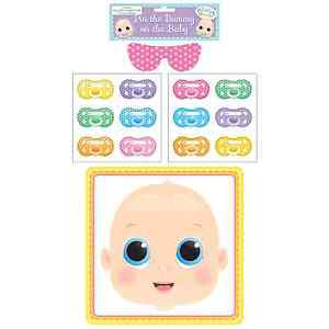 Pin Dummy on the Baby Fun Party Game Activity Shower Celebration Accessory Stick
