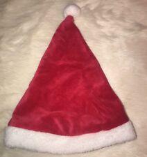 NEW Nursery Rhyme Christmas Holiday Santa Claus Baby Hat Unisex Sz 0/3 Months
