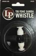 Samba Whistle LPA229  Tri-Tone Whistle. Pito De Samba Tres Tonos.