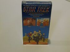 Star Trek The Animated Adventures Vol.9 Bem & Albatross 1989 Vhs New/Sealed