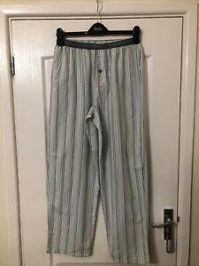 Calvin Klein PJ Bottoms 100% Cotton Size S Ex Cond