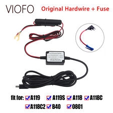 Original Car Dash Camera DVR Hardwire Cable+Fuse Kit For VIOFO A119 A119S A118C2