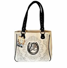 Montana West Horse Head Dual Sided Concealed Carry American Bling Handbag