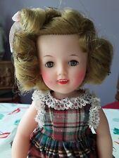 Doll Ancienne poupée SHIRLEY TEMPLE avec la boite orginalne