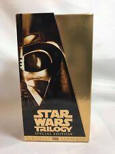 Star Wars Trilogy Special Edition Digitally Mastered THX Darth Vader Case VHS