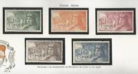 (L102) ESPAÑA 1952 - FERNANDO EL CATOLICO - AEREO - EDIFIL 1111 A 1115**