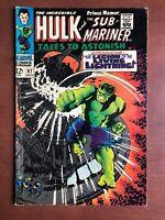 Tales to Astonish #97 (1967) 6.0 FN Marvel Key Issue Silver Age Sub-Mariner Hulk