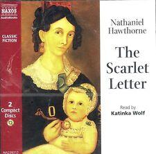 Nathaniel Hawthorne The Scarlet Letter audiobook CD NEW