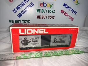 Lionel 6-9780 Johnny Cash Boxcar NEW IN BOX