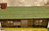 Marx 1950's US Army Headquarters Training Center Model T3-21 vintage tin toy HO