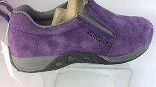 Merrell Leather Unisex Kids Shoes Size 5 M Purple Color (4)