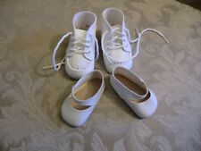 2 PAIR SHOES FOR BIG BABY DOLLS
