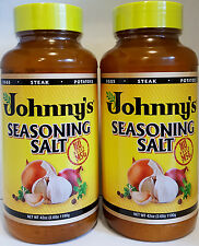 Johnny's Seasoning Salt 2 x 2.6 lb (42 oz.)No MSG Pure Magic Meat & Other Dishes