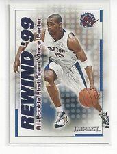 1999-00 SKYBOX IMPACT BASKETBALL INSERT REWIND '99 VINCE CARTER #30 OF 40 RN30