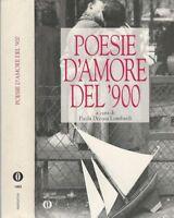 Poesie d'amore del '900 - MONDADORI 1995