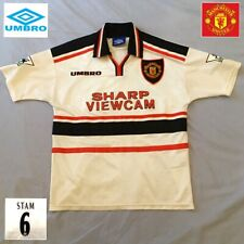 Manchester United Football Shirt Jaap Stam #6 Genuine Vintage Umbro Jersey